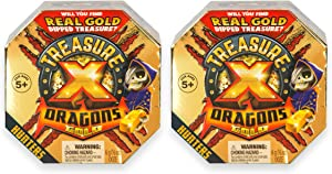 Treasure X Quest For Dragons Gold - Treasure Hunter - 2 Pack