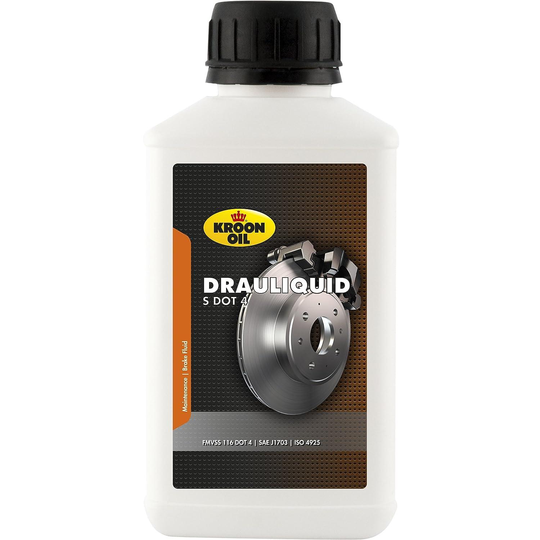 Kroon Oil DOT 4 Liquide de frein pour moto et voiture 250 ml