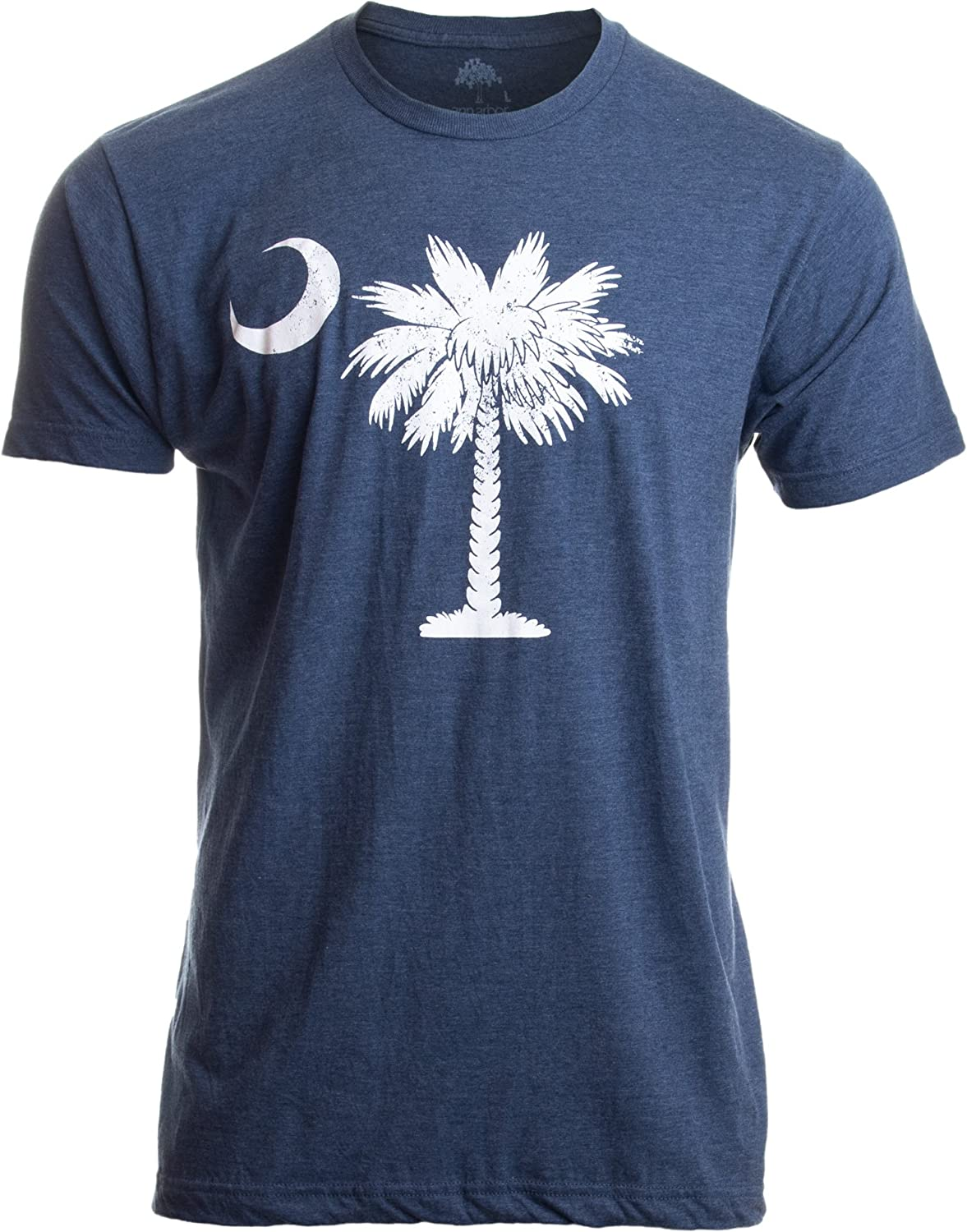 South Carolina Flag | Palmetto Moon Carolinian SC Charleston Men Women T-Shirt