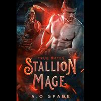 Stallion Mage: True Mates: Mpreg Romance (English Edition)