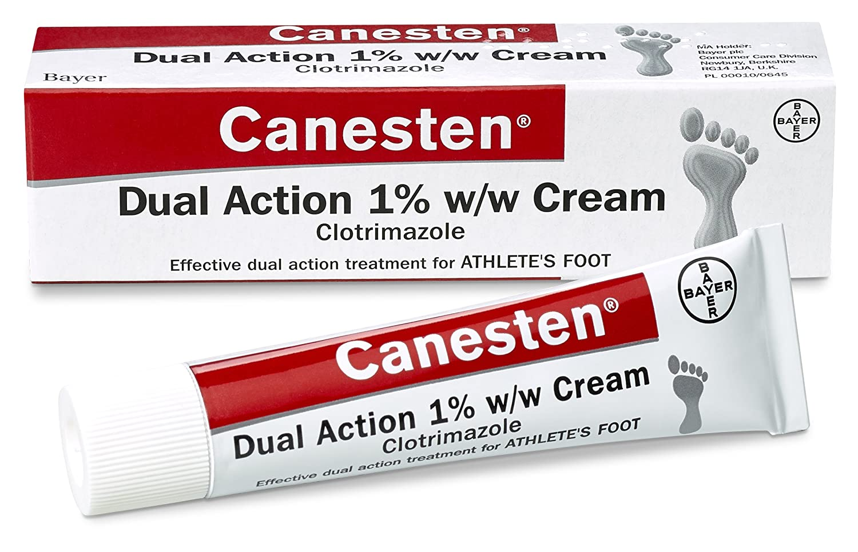 canesten foot cream