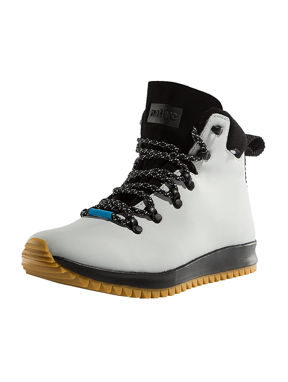 native Men's Ap Apex Ct Rain Boot B01MZ9DH0I 6.5 Women / 4.5 Men M US|Mist Grey Ct/Jiffy Black/Natural Rubber