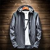 D-BuLun 丹步伦 秋季新款防风防水速干夹克 男装薄款冲锋单衣 男士户外运动风衣外套 XDJP-SWL8808