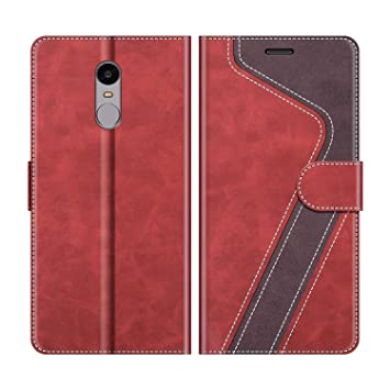 MOBESV Funda para Xiaomi Redmi Note 4, Funda Libro Xiaomi Redmi Note 4, Funda Móvil Xiaomi Redmi Note 4 Magnético Carcasa para Xiaomi Redmi Note 4 ...