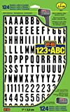 Hy-Ko Products MM-6 Self Adhesive Vinyl Numbers and