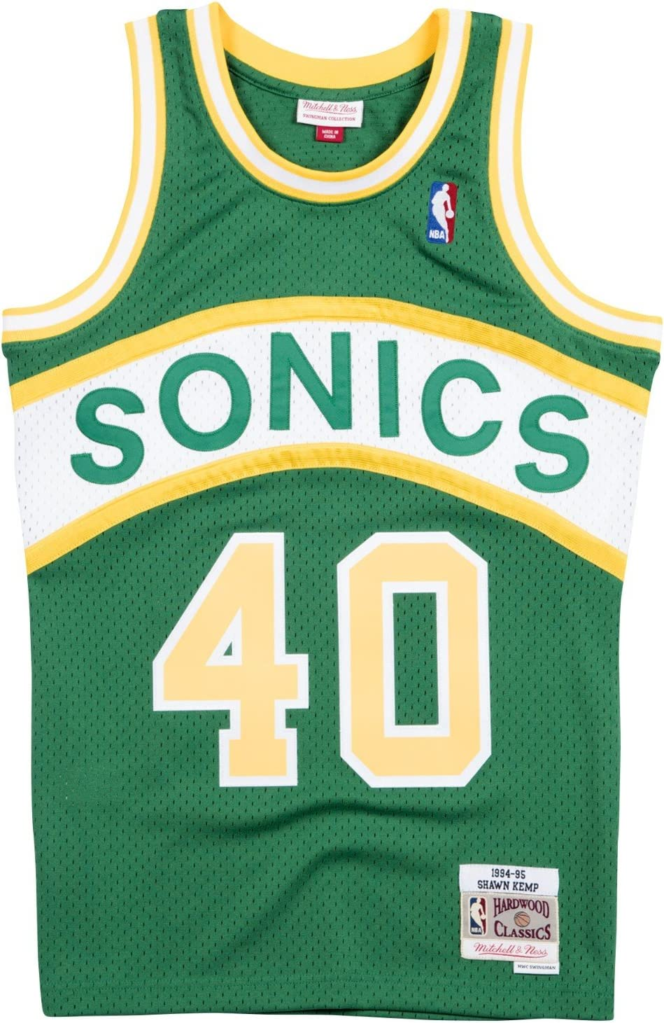 seattle supersonics jersey