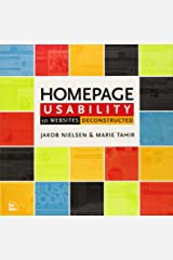 Homepage Usability: 50 Websites Deconstructed Paperback
