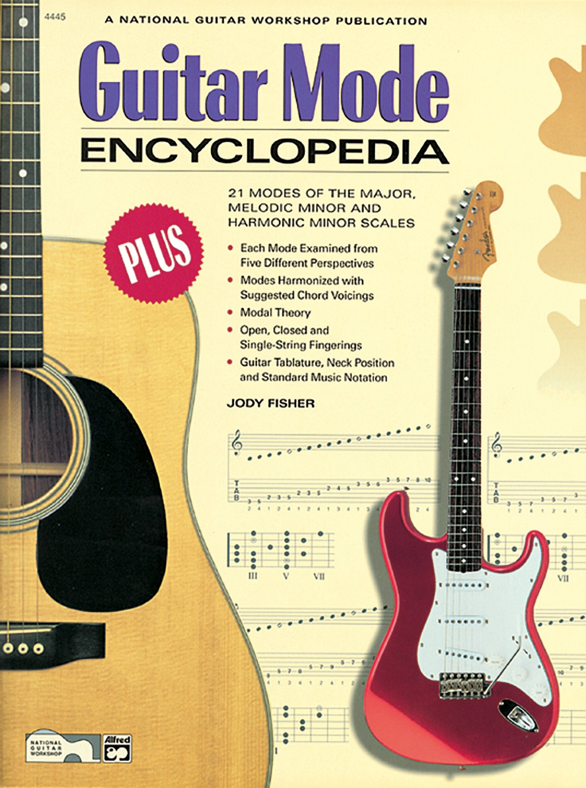 Guitar Mode Encyclopedia 21 Modes Of The Major Melodic Minor And