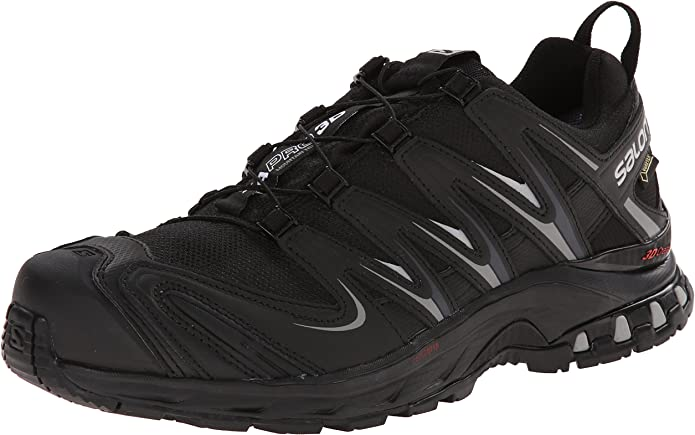 Salomon Men S Xa Pro 3d Gtx Running Trail Shoe Black Black Pewter 14 M Us Amazon Ca Shoes Handbags