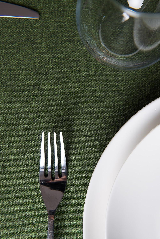 Rollmayer abwaschbar Tischdecke Wasserabweisend Lotuseffekt (Melange (Melange (Melange Rot 35, 150x350cm) Leinenoptik Tischtuch mit pflegeleicht Fleckschutz, Rechteckig, Farbe & Größe wählbar B076ZVCPJV Tischdecken a93460