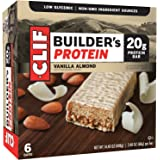 CLIF BUILDER'S - Protein Bar - Vanilla Almond - (2.4 Ounce Bar, 6 Count)