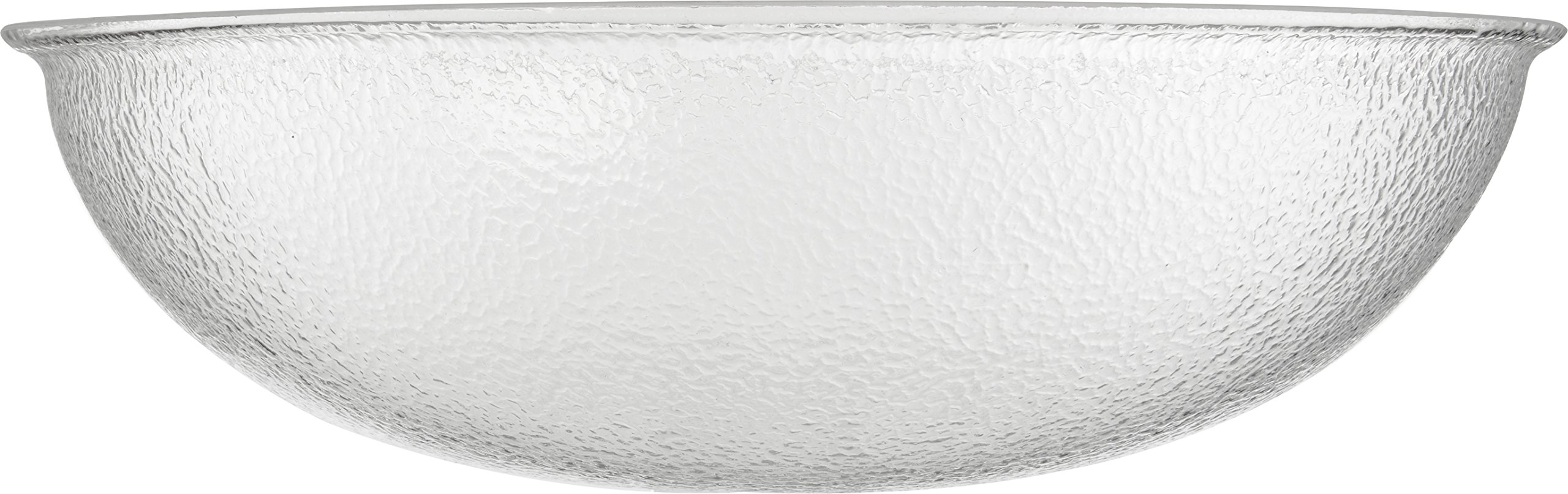 Carlisle SP2207 Acrylic Pebbled Punch Bowl, 24-qt. Capacity, 22'' Diameter x 11.12'' Height, Clear by Carlisle (Image #4)
