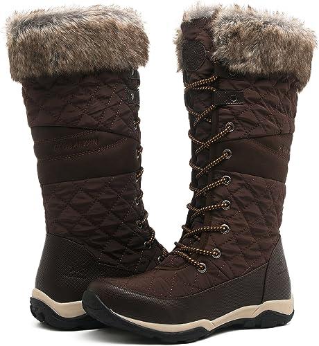 guapo nuevos estilos bien conocido Amazon.com: Globalwin - Botas de nieve para mujer: Shoes