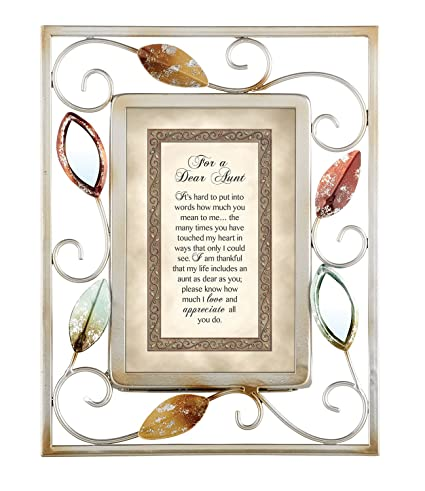 Amazon.com - Heartwarming Expressions Tabletop Frame, For A Dear Aunt -
