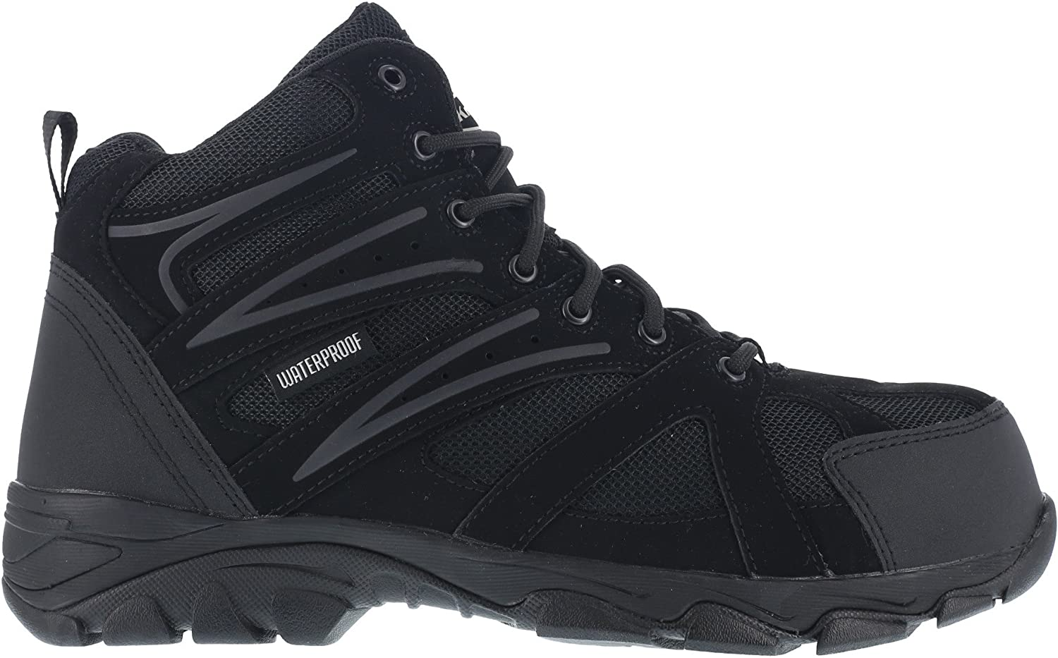 Knapp Men s Ground Patrol Waterproof Work Boot Composite Toe – K5400
