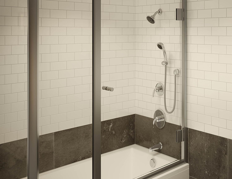 Symmons 5505-SBZ-TRM Elm Seasoned Bronze Shower System Trim with Hand Spray