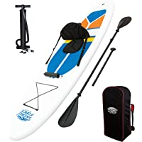 Hydro-Force 10ft Inflatable Stand Up Paddle board Sup With Kayak Set