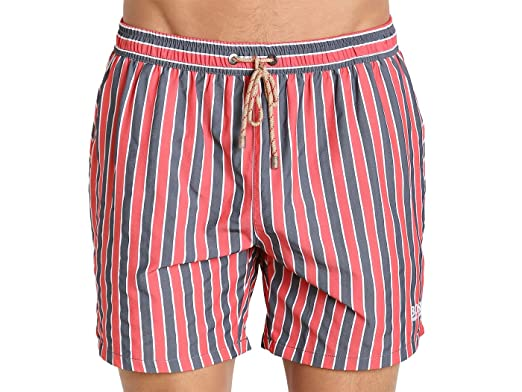 a1e1e6e1bfc81 Image Unavailable. Image not available for. Color: Hugo Boss Salmon Swim  Shorts Red