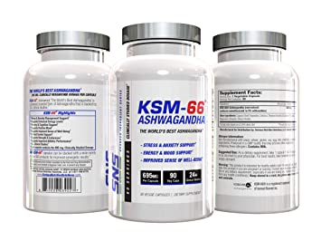 Amazon com: KSM-66 Ashwagandha - The World's Best