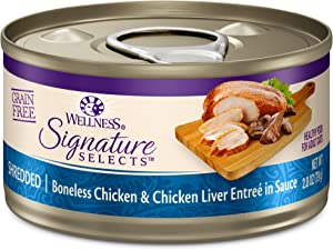 Wellness CORE Signature Selects Shredded Boneless Wet Cat Food