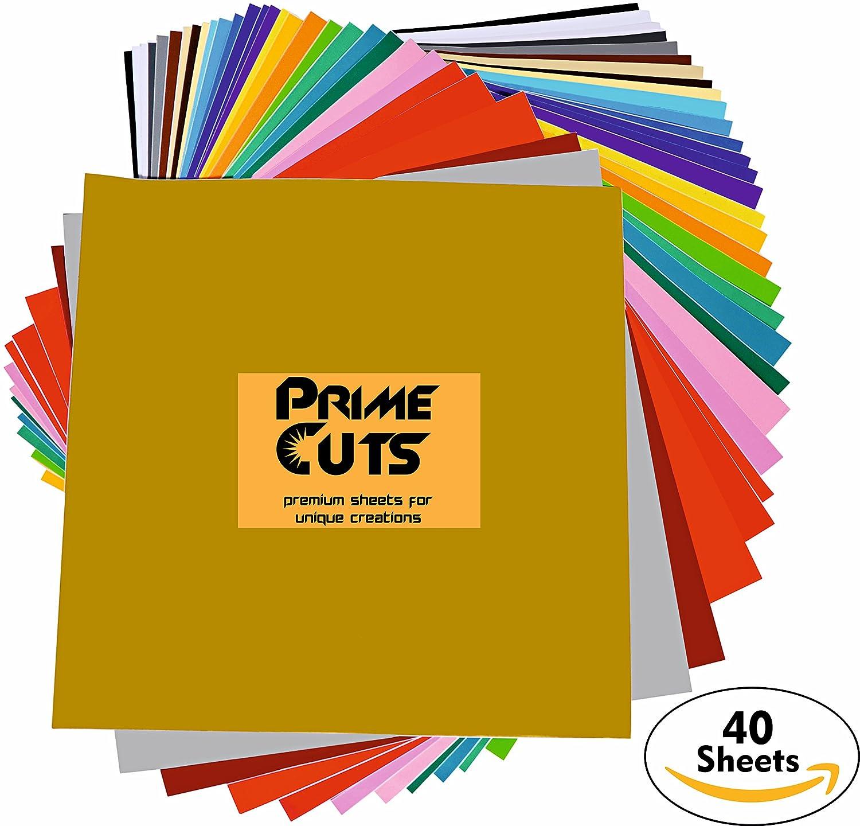 40 Pack Of Top Colors Vinyl 12 Quot X12 Quot For Silhouette Cricut