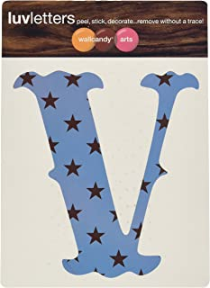 product image for WallCandy Arts Luv Letters Stars Wall Stickers, V