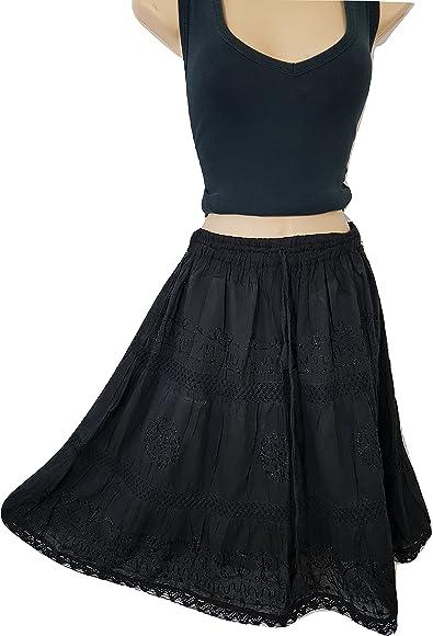 BNWT Ladies black half slip underskirt lace trim ~ UK Size 10 14 16 18 20