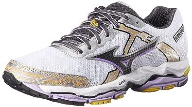 Mizuno Women\u0027s Wave Enigma 4 Running Shoe, White/Black, ...