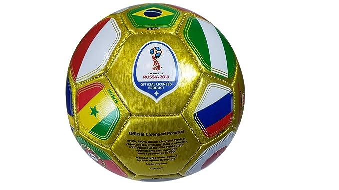 FIFA Oficial Rusia 2018 Copa del Mundo Oficial Talla 2 Bola 01 - 4 ...