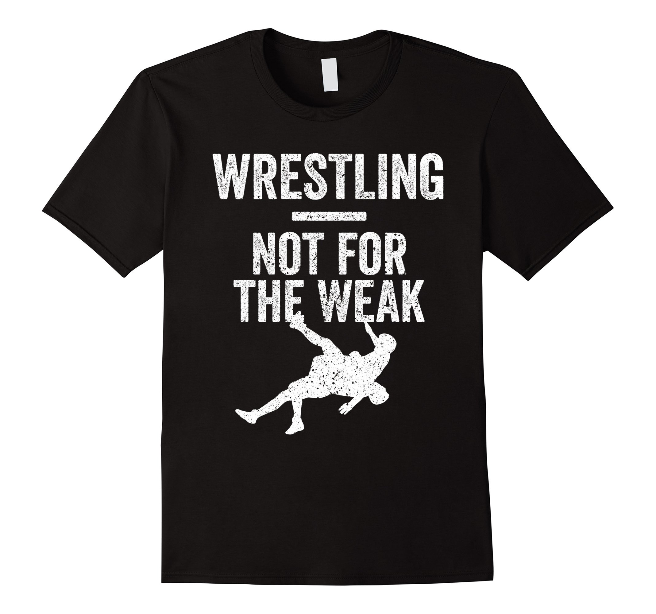 Mens Not For The Weak Wrestling Shirt for Wrestlers, Gift, White Medium Black by Wrestling Shirts and Wrestling Shoes