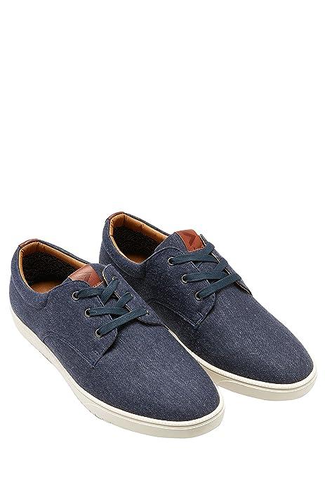 Sneakers blu navy con stringhe per uomo Next 4m2gCDa