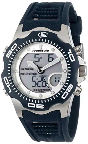 Freestyle Shark X 2.0 - Reloj analógico - digital de caballero de cuarzo con correa de