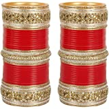 Much More Bridal Chura With Broad Kada For Women