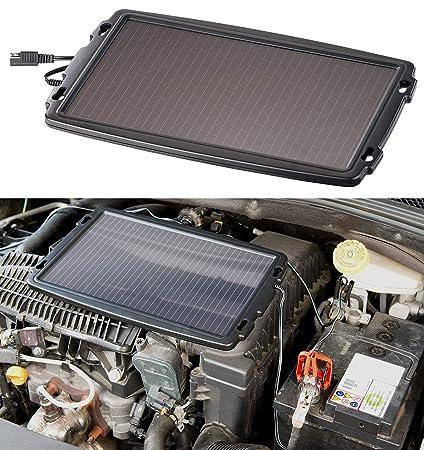 reVolt - Cargador solar para baterías de coche, 12 V, 2,4 W ...
