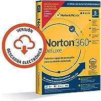 Norton 360 Deluxe 2021 - Antivirus software para 5 Dispositivos y 15 meses de suscripción con renovación automática…