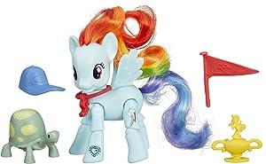My Little Pony Friendship Is Magic Rainbow Dash Winning Kick Poseable Pony