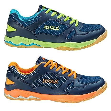 JOOLA NEXTT Navy-Lime - Zapatillas de Tenis de Mesa (36): Amazon ...