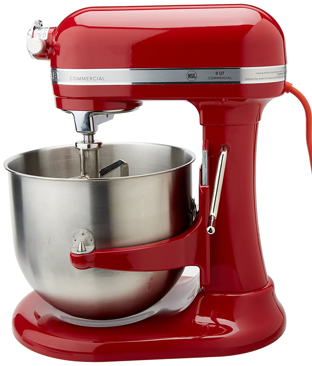 Amazon.com: KitchenAid (KSM8990OB) 8-Quart Stand Mixer with Bowl ...