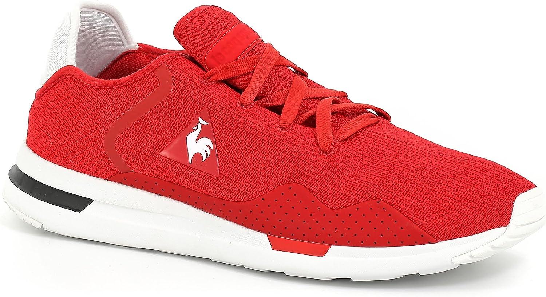 TALLA 40 EU. Zapatillas Le COQ Sportif Hombre Rojo 1810401 Solas Sport Vintage Red