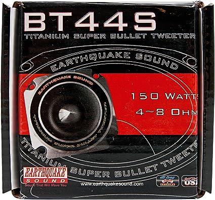 Earthquake Sound BT-90S 300W Heavy Duty Titanium Bullet Tweeter