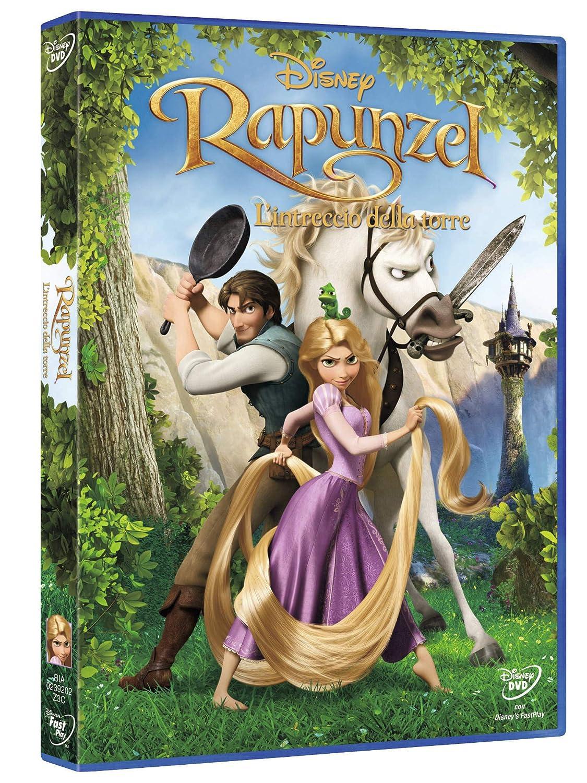 Videosystem rapunzel intrecci della torre dvd disney amazon