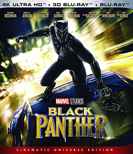 3343581e3343 Amazon.in: Buy Black Panther UHD 4K + 3D BD + BD DVD, Blu-ray Online at  Best Prices in India | Movies & TV Shows