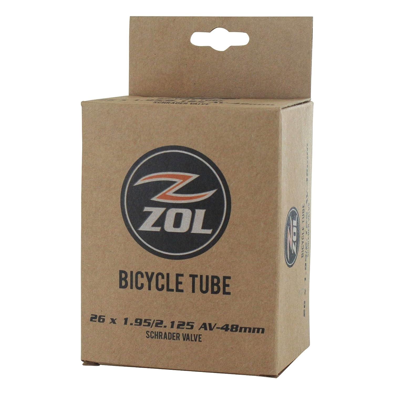 "Pack of 1 Mountain Bike Bicycle Inner Tube 26/""x1.95//2.125 Presta Schrader Valve"