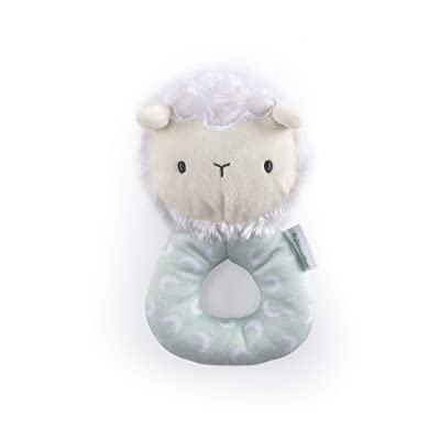 Ingenuity Premium Soft Plush Ring Rattle - Sheppy The Sheep, Ages Newborn + : Baby [5Bkhe0305160]