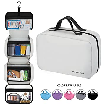 Amazon.com   Hanging Travel Toiletry Bag for Men and Women  90756e0f89673