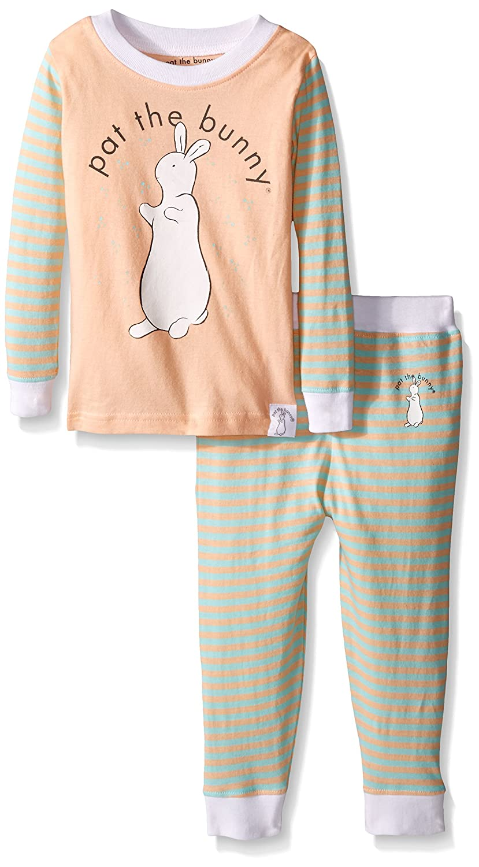 7a025867a447 Amazon.com  Pat The Bunny Baby Girls  PJ Set (Baby)  Clothing