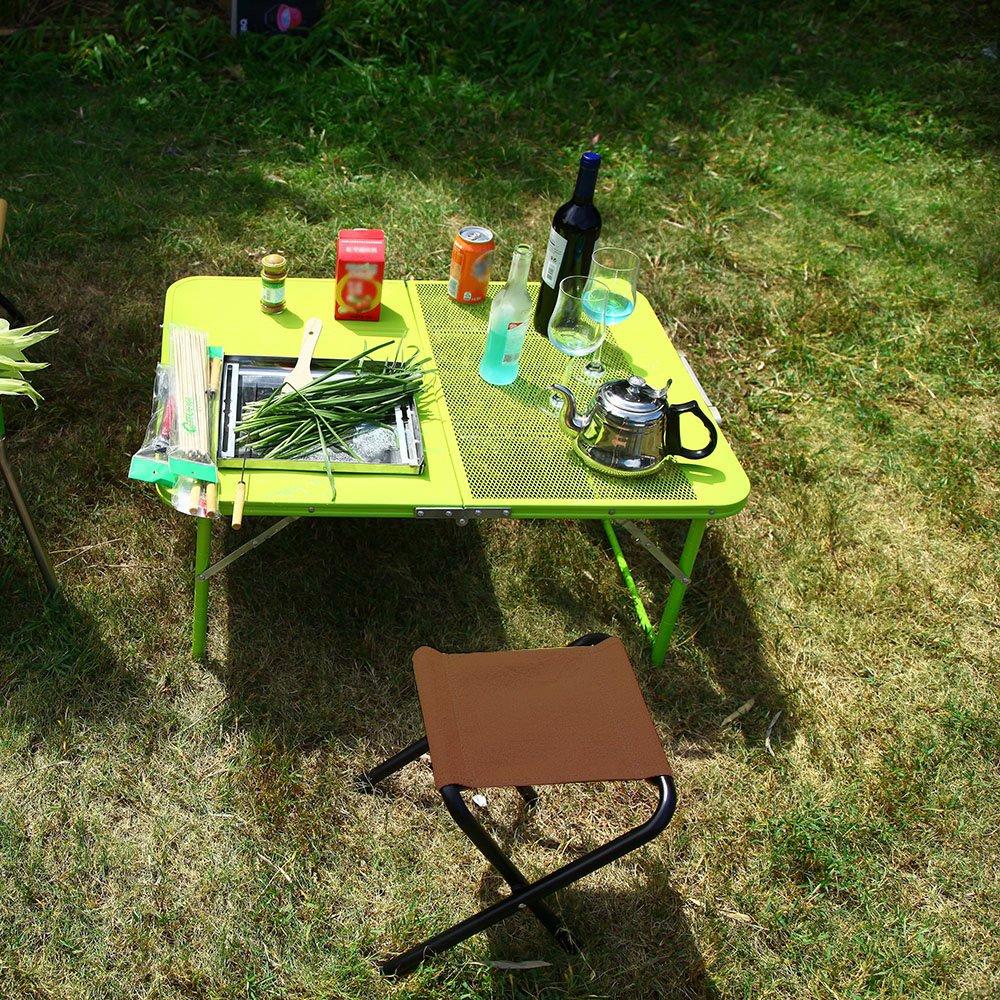 Amazon.com: tomshoo silla portátil de mesa de camping ...