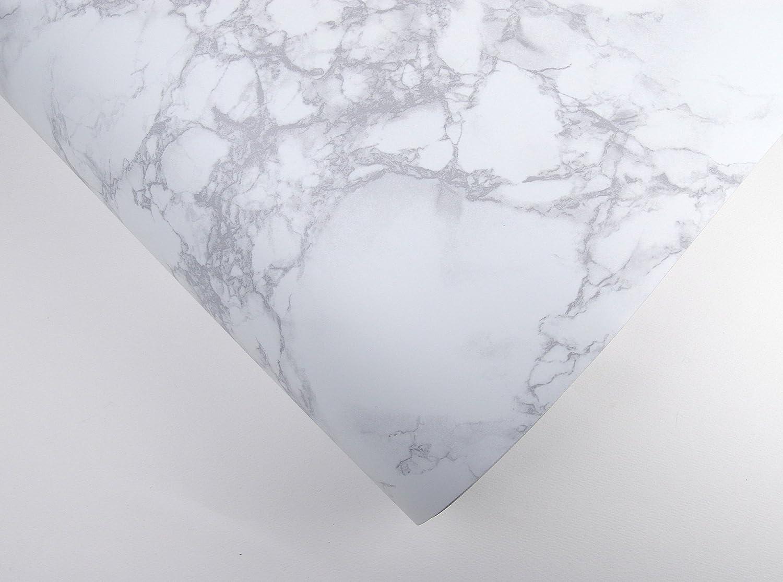 Papel autoadhesivo de con efecto de m/ármol y granito previamente pegado papel pintado para revestimiento