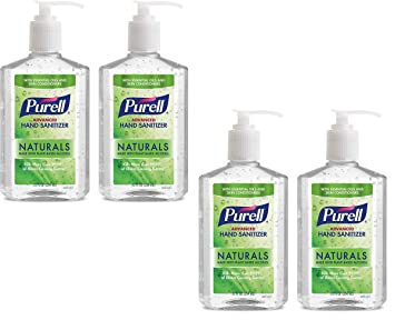 Amazon Com Purell Advanced Hand Sanitizer Naturals With Plant
