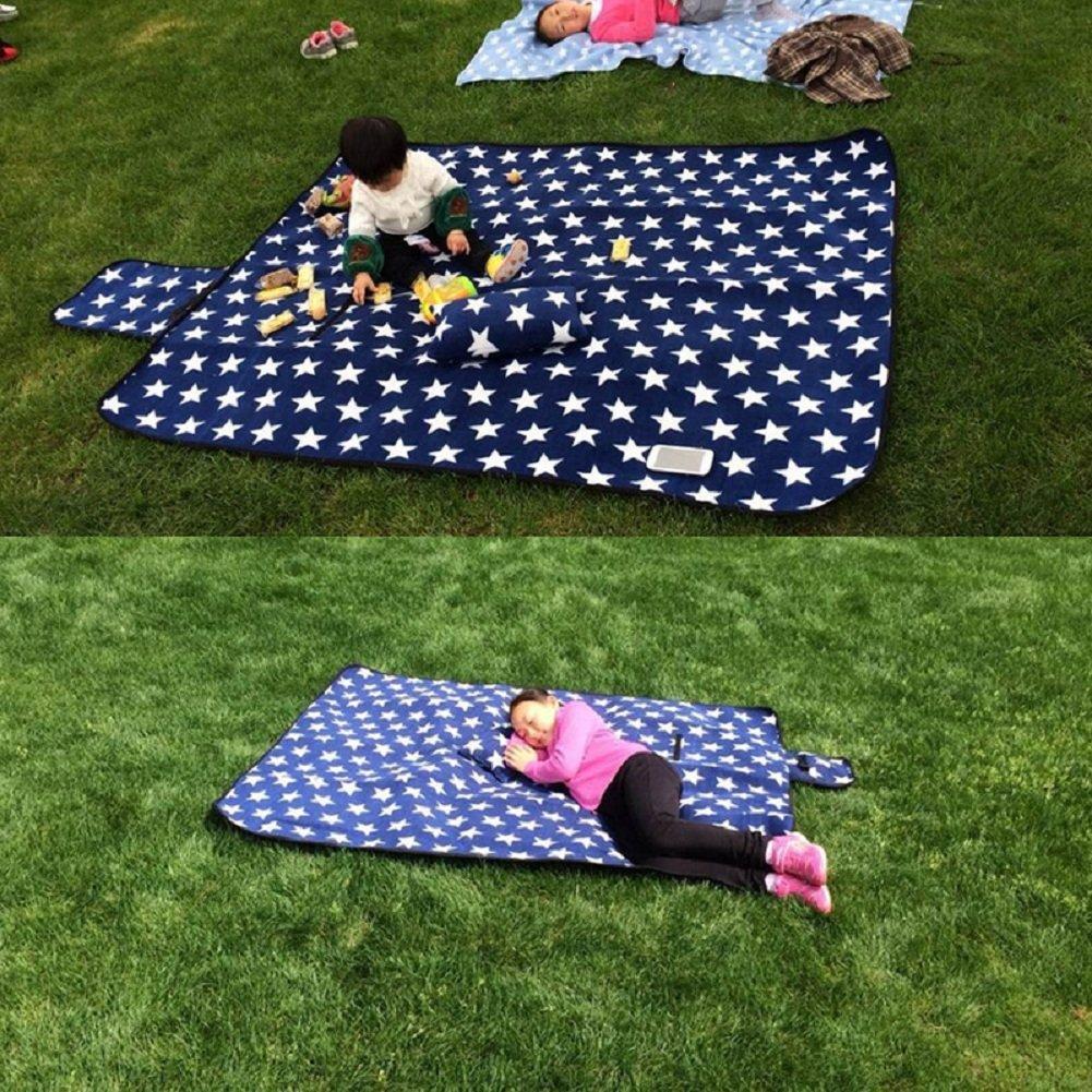 Strand Wasser und Sand Beweis 3 Ebenen Top Grade Outdoor-Decke f/ür Picknick Faltbare Picknick-Decken Reisen Camping